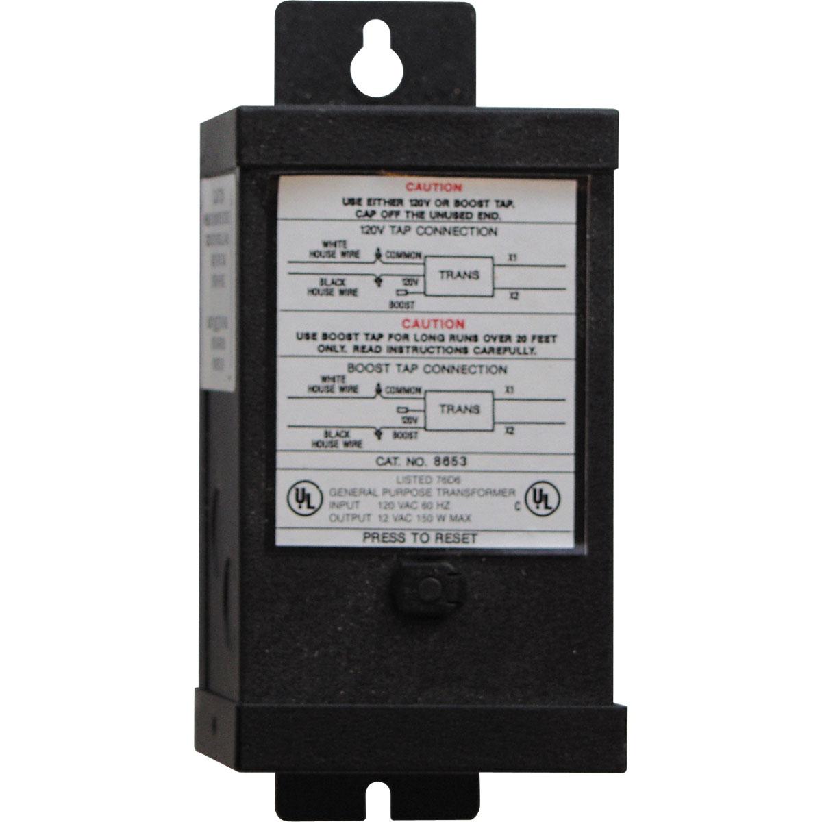 Progress Lighting® P8653-31 Commodity/Utilitarian Landscape Transformer, 120 VAC Input, 12 VAC Output, 150 W