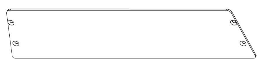 RAB GDSLIM57P POLYSHIELD GUARD SLIM WALLPACK 57W WITH STAINLESS SCREWS WP2