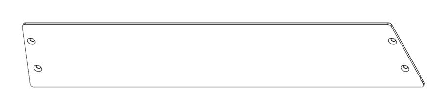 RAB GDSLIM62P POLYSHIELD GUARD SLIM WALLPACK 62W WITH STAINLESS SCREWS WP3