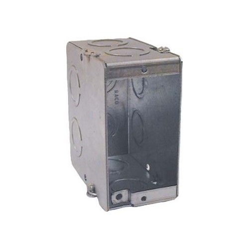 RAC 689 3-1/2 MASONRY BOX GANGABLE cs=20