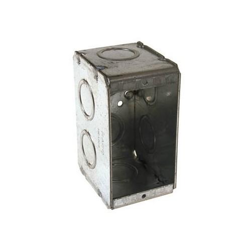 RAC 690 2-1/2D 1G MASONRY BOX cs=25