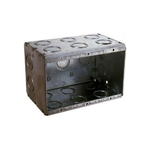 RAC 697 3-1/2D 3G MASONRY BOX cs=10