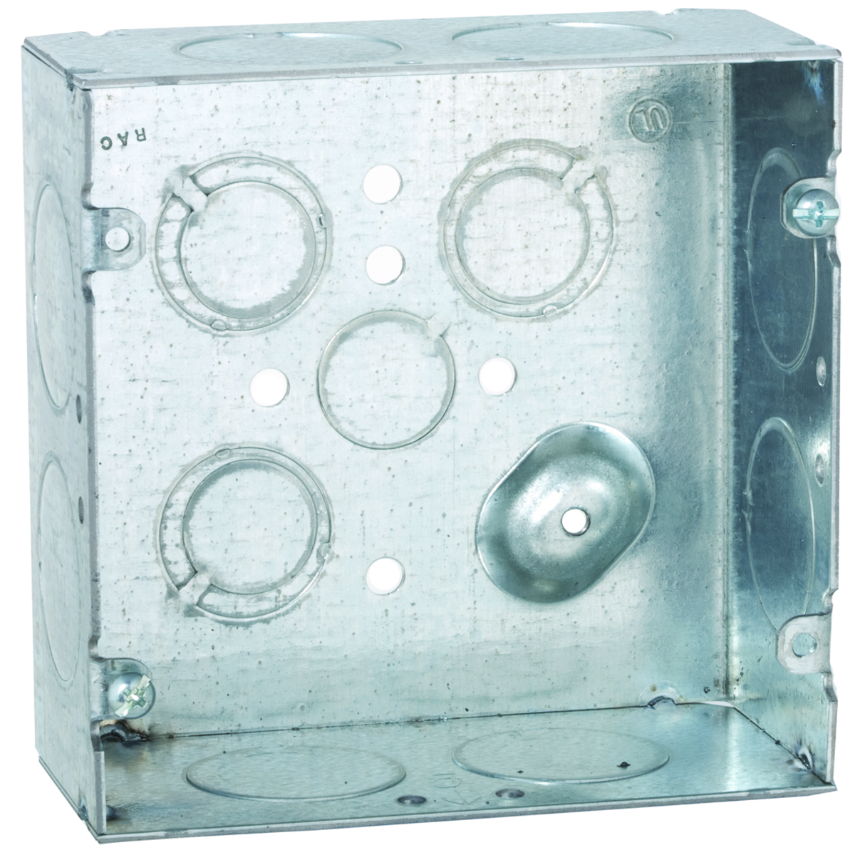 RAC 258 SQUARE BOX 4-11/16 -1 KO