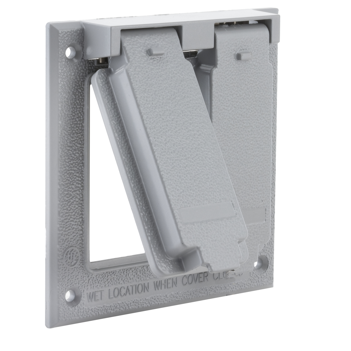 BELL,5145-0,2G WP COVER BOX MT (2) GFCI - GRAY