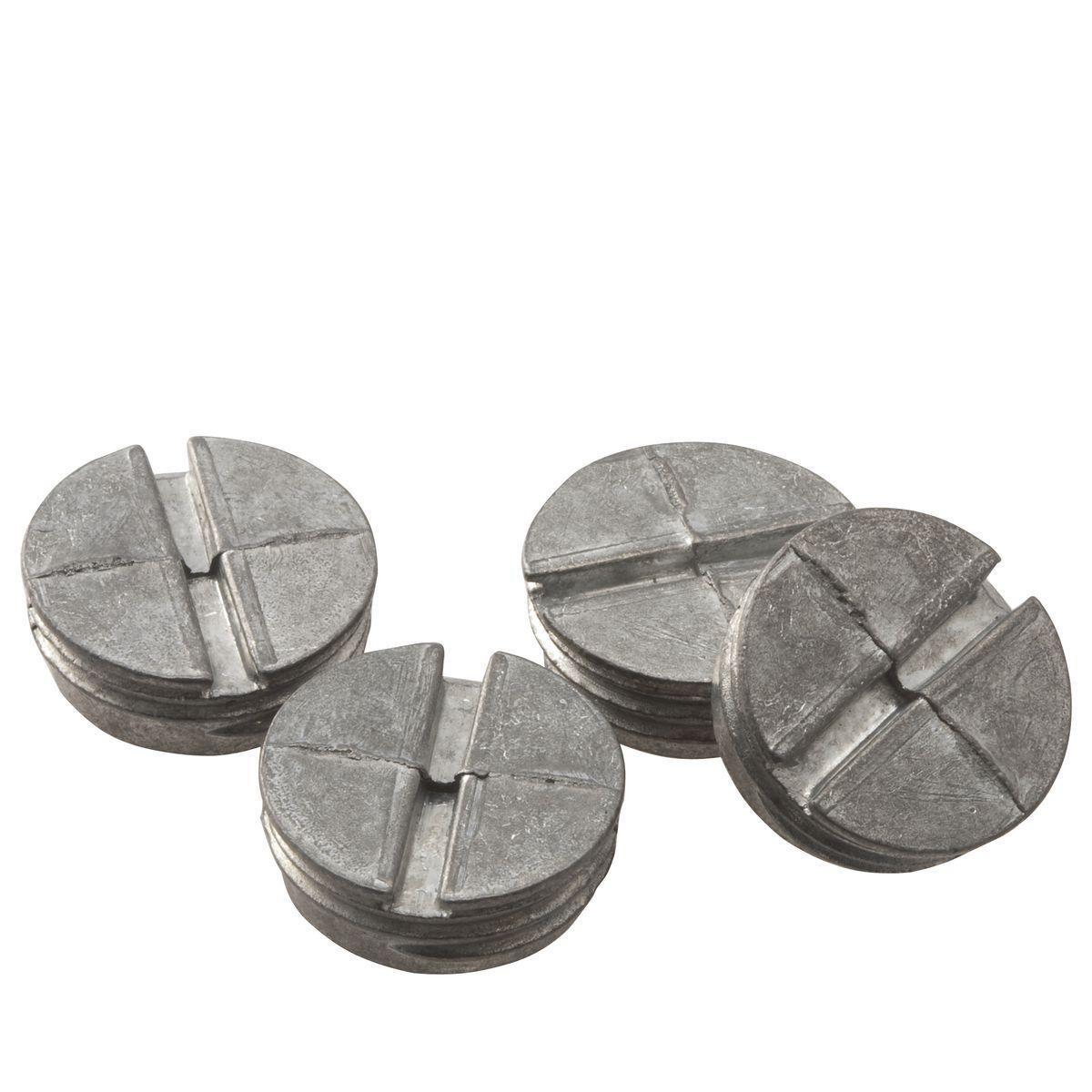 BELL,5269-0,WP CLOSURE PLUG 1/2 IN. NPT GRAY (4/BAG)