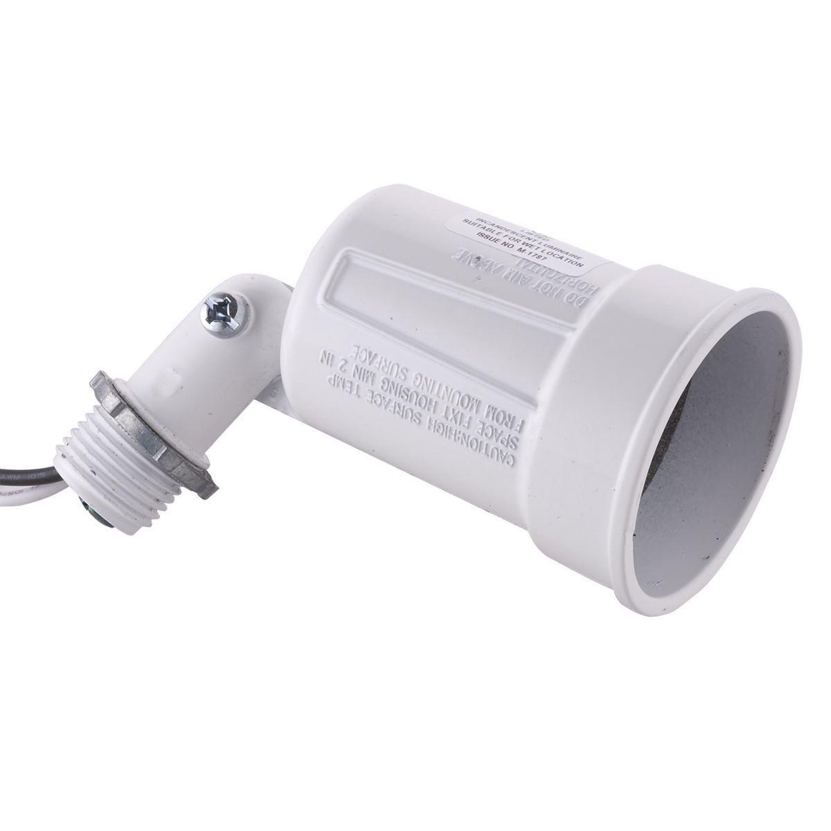 BELL,5606-1,WEATHERPROOF LAMPHOLDER WHITE