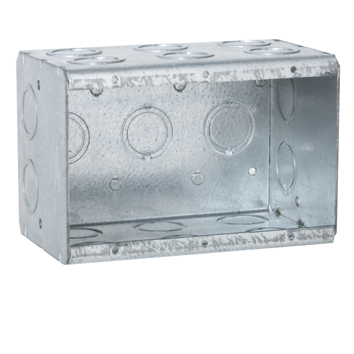 RAC 697 MASON BOX 3G 3-1/2DP CONCEN KO