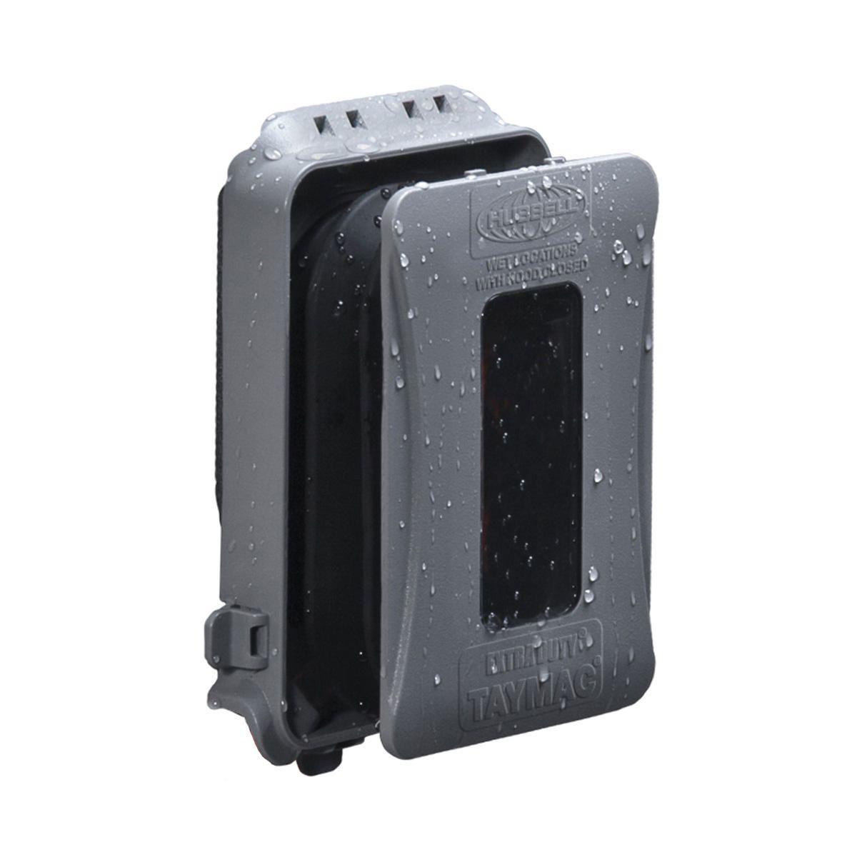 RACO,ML500G,1G WP EXTRA DUTY  EXPANDABLE WIU CVR GRY
