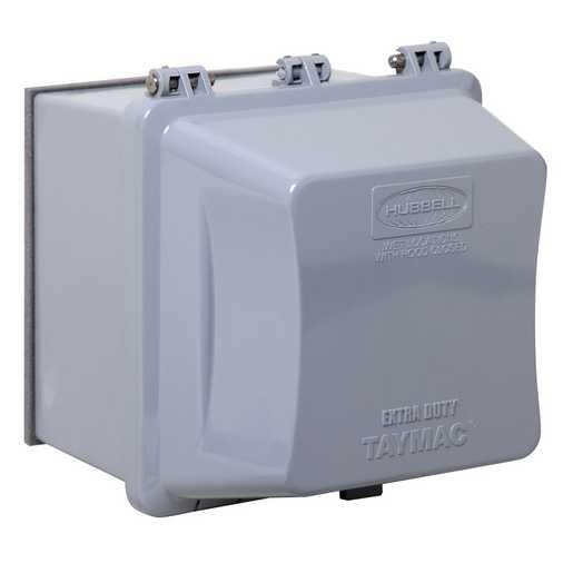 rac MM7420G RACO 2G WP EXTDTY 55IN1 IN-USE CVR 4-3/4 GRY