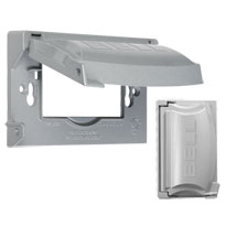 TAY MX1250S 1G GRAY WP METAL HORZ COVER 12-IN-1 CS=20 Meets or Exceeds Extra Duty Specifications