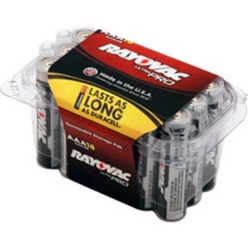 RAY ALAAA-18PPJ AAA ALKALINE BATTERY CS=18/216 Prev: ALAAA-18F