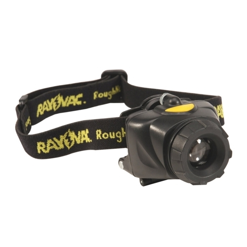 RAY RNHL3AAA-B LED FLASHLIGHT - HEAD MOUNT - 80LUMENS ROUGHNECK