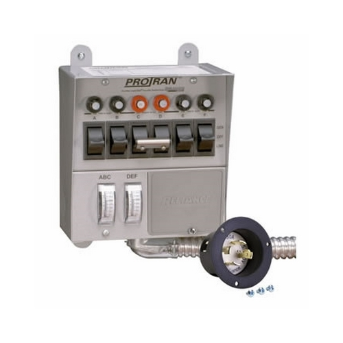 REL30216A PRO/TRAN TRANS SW W/METERS & INLET, RELIANCE CONTROLS