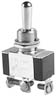 SEL SS206-15-BG SPDT 1 POLE 20A 125V BAT ON-OFF-ON MAINTAINED CONTACT TOGGLE SWITCH