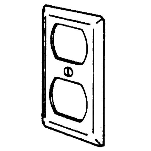 2510 EGS HANDY BOX CVR 4 X 2-1/8