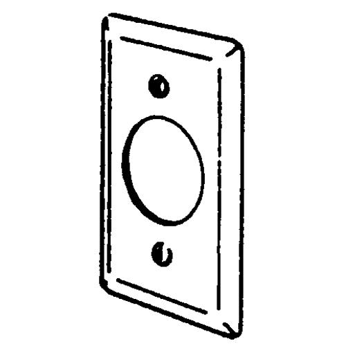 EGS 2539 HANDY BOX CVR 4 X 2-1/8