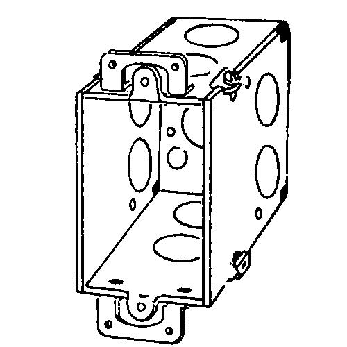 APP 333D 3-1/2D SW BOX 1/2