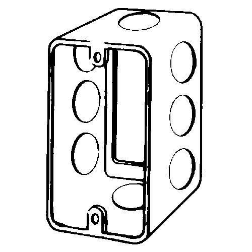 4CSE1/2 EGS 4 X 2-1/8 HANDY BOX EXT