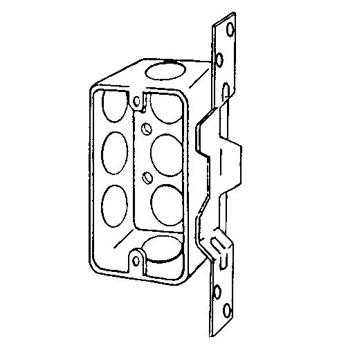 EGS 4CSVB-1/2 4 X 2-1/8 HANDY BOX
