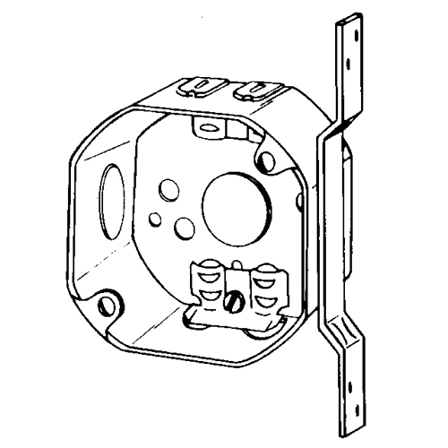 EGS 560LVB 3-1/4 IN OCT BOX 1-1/2 D