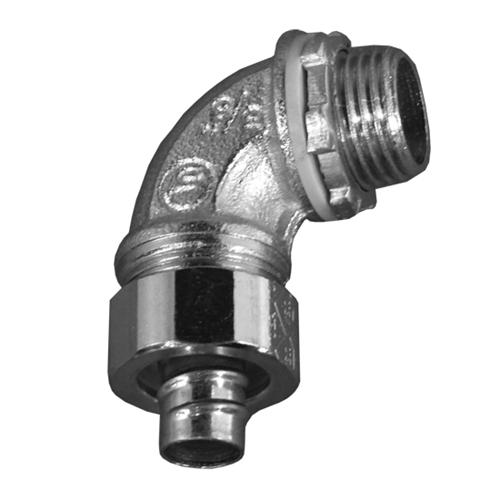 OZG 4QS-950 1/2 90D STEEL LT CONN cs=10/50