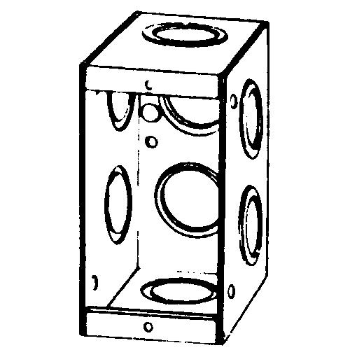 APP M1-250 MASONRY BOX