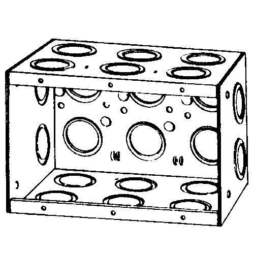 APP M3-350 MASONRY BOX