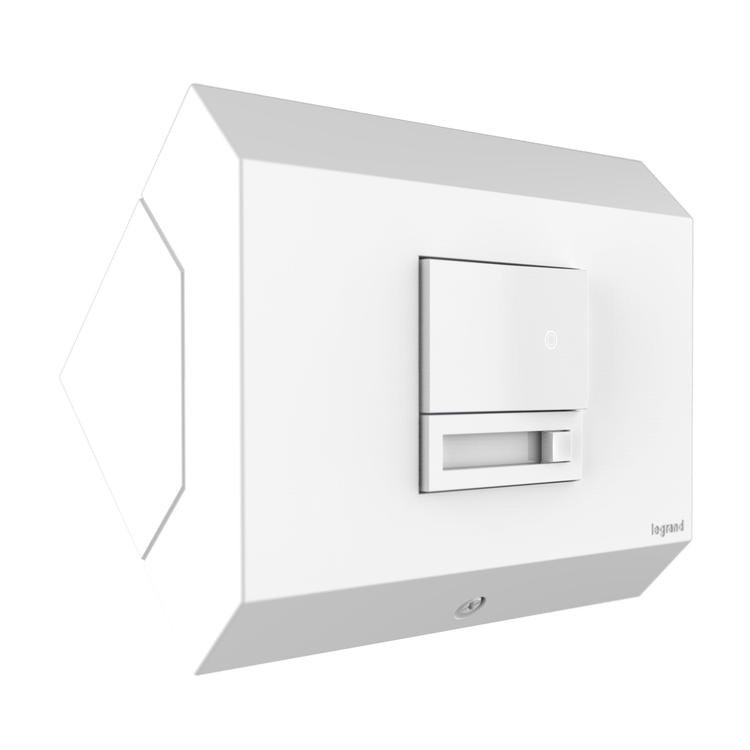 LGR APCB1W4 ADORNE CONTROL BOX 1 W/DIMMER WHITE