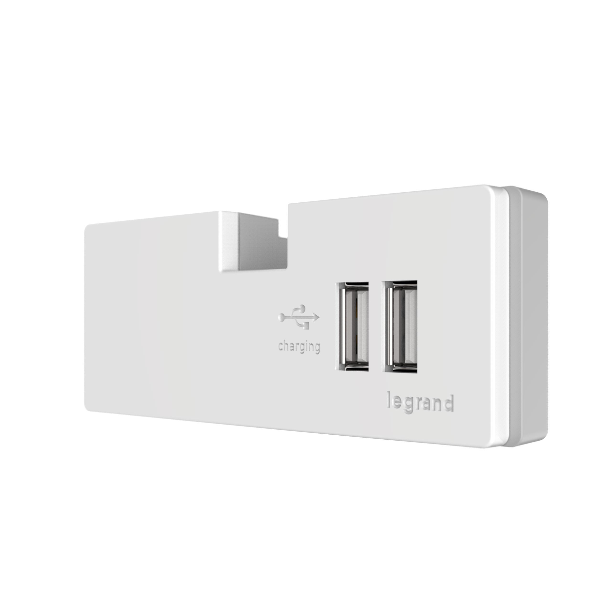LGR APUSB3W4 ADORNE USB OUTLET MODULE WHITE