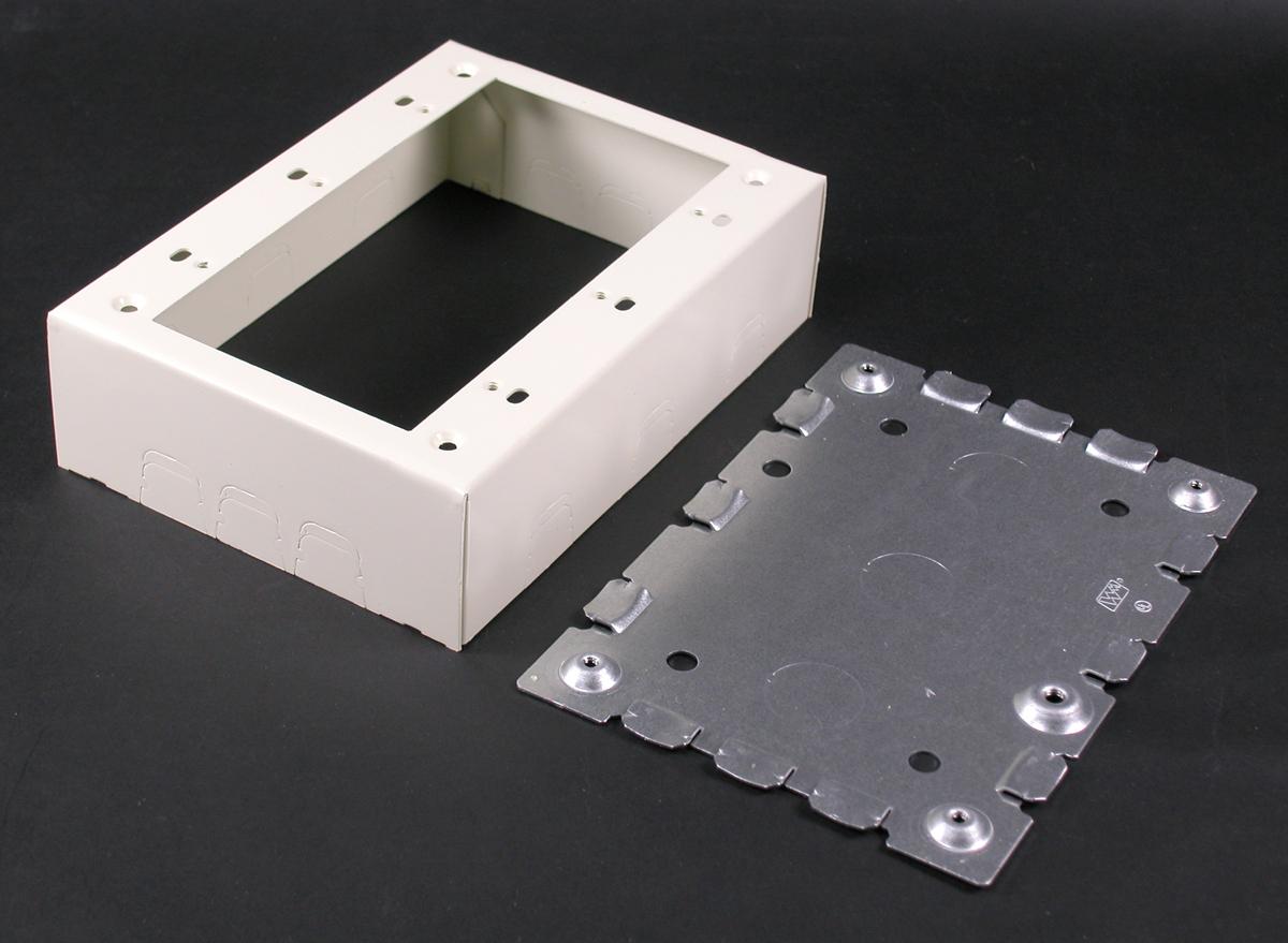 WMD V5748-3 STL DEVICE BOX 3G IVORY