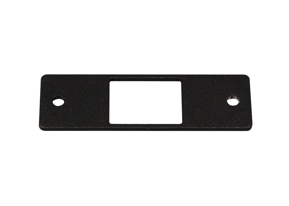 AV9008BK WIREMOLD 1P,BLACK,KEYSTONE JACK PLATE 78677617783