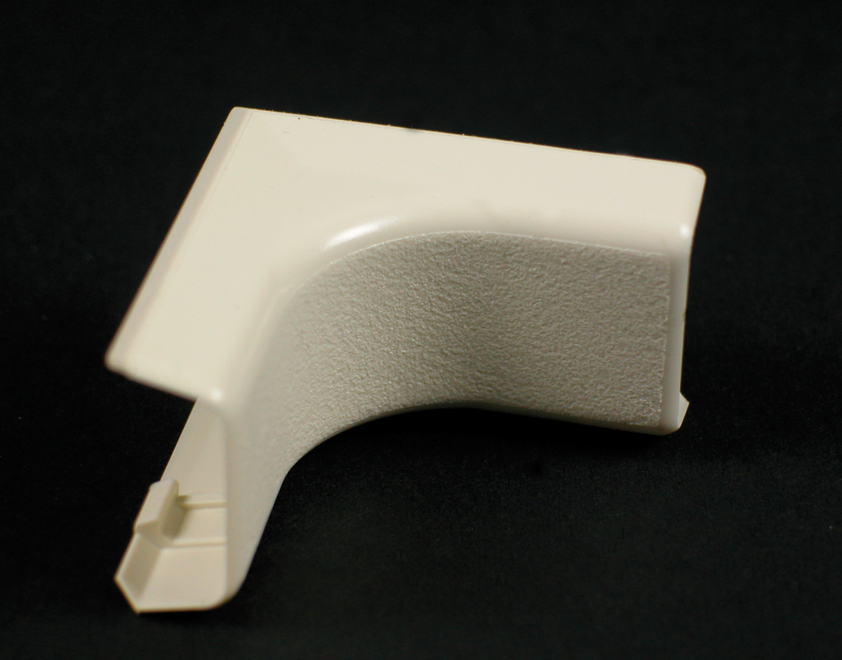WIREMOLD 417 : NON-METALLIC INTERNAL ELBOW 400 IVORY