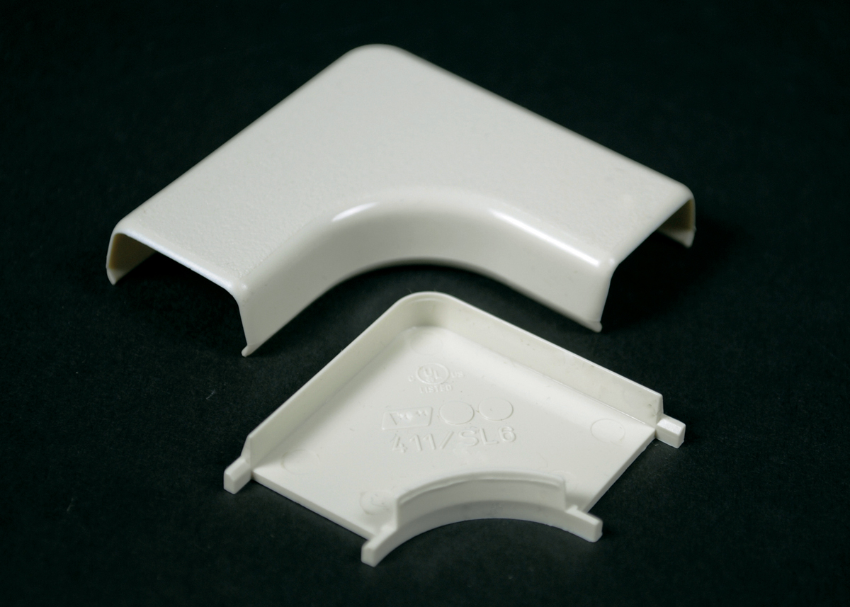 WMD 411 NM FLAT 90 D. ELBOW 400 IVORY