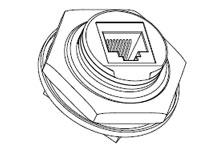 WOOD ENPR1FF5 ENET FR PCB MOUNT FRO