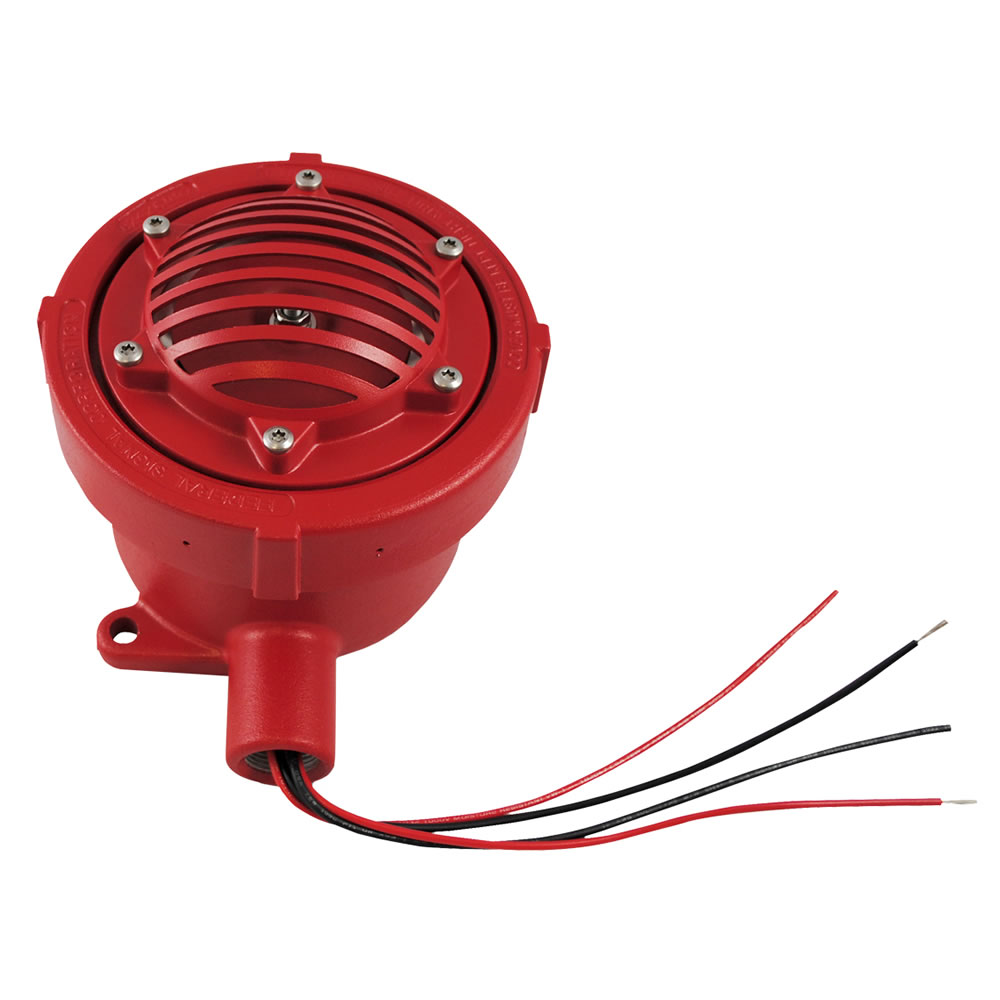 FHEX-24SMR FEDERAL HORN EXPL PROOF 4-WIRE 24VDC RED