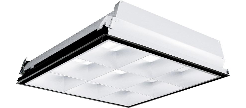 Columbia Lighting,P4D22-232U6G-MA33-S-EU,PRBLC 2X2 2L 32WU6 9CELL 120-277V T8 2BA