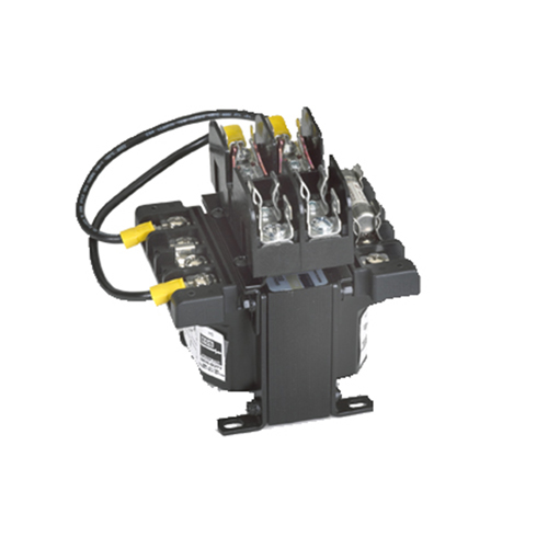 SolaHD E100D 100 VA 240 x 480 VAC Primary 24 VAC Secondary Encapsulated Industrial Control Transformer