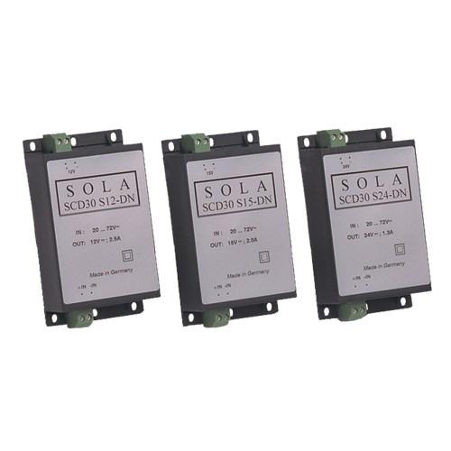 SolaHD,SCD30S48-DN,30W 48V DC-DC DIN SWITCHING PS