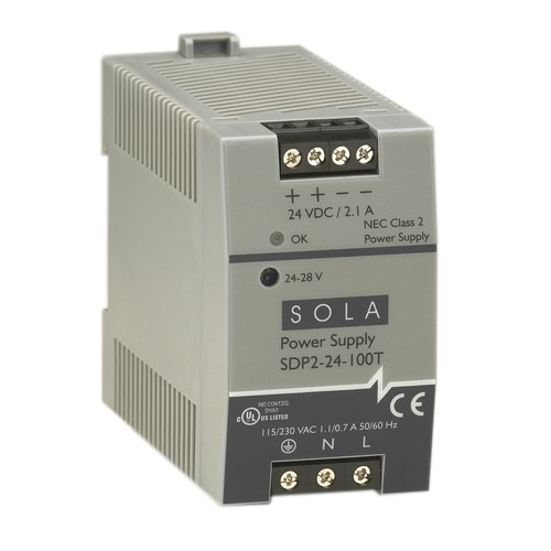 Sola/Hevi-Duty SDP2-24-100T Sola Hevi-Duty 1 Phase Power Supply, SDP 2-24-100T