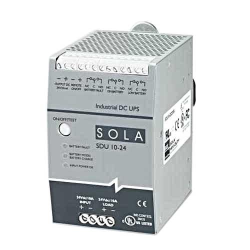 SolaHD,SDU-10-24,240VA 10A 24V DIN DC UPSWOBAT