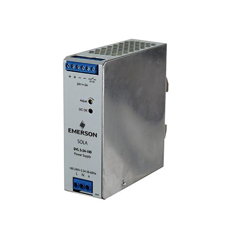 SOLASVL524100 120W 24V DIN PS 85-264VAC, SOLA/HEVI DUTY