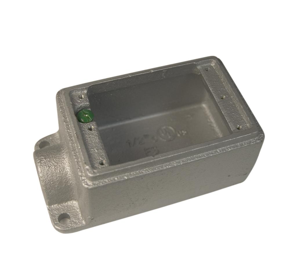 1 IN FS BOX SINGLE HUB