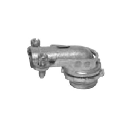 Topaz 103 1IN Zinc Squeeze 90DEG BxFlex Connector