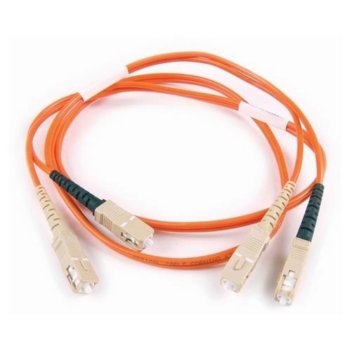 SC-SC Duplex OM2 Fiber Assembly, 2M, OG