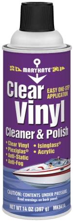 CLEAR VINYL CLEANER & POLISH