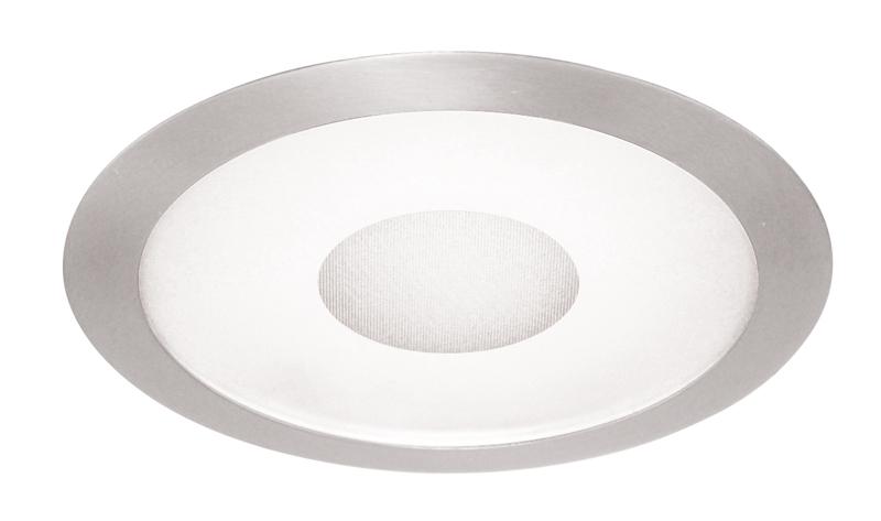 Juno,242-WH,Juno® 242 Lens Trim, 7-3/8 in OD, Fluorescent/Incandescent Lamp