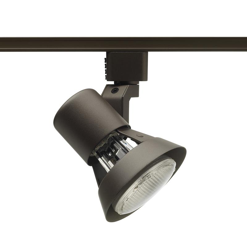 Juno,R531BL,Juno® Trac-Lites™ R531 Line Voltage Track Head, Incandescent Lamp, 120 VAC, Flared Gimbal Head