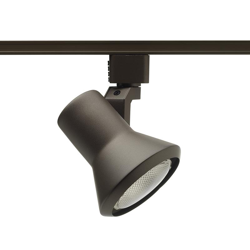 Juno,R551BL,Juno® Trac-Lites™ R551 Line Voltage Track Head, Incandescent Lamp, 120 VAC, Flared Step Head