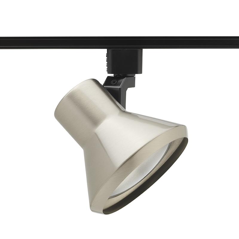 Juno,R552WH,Juno® Trac-Lites™ R552 Line Voltage Track Head, Incandescent Lamp, 120 VAC, Flared Step Head, 5 in Maximum Extension