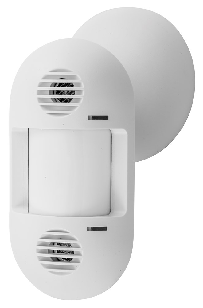 Hubbell ATD1600W 24 VDC 1600 Square Foot White Ultrasonic and Passive Infrared Adaptive Wall Mount Sensor